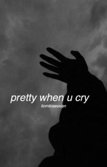 pretty when u cry | texting