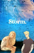 Storm-one shot-jason grace y tu by Gio432