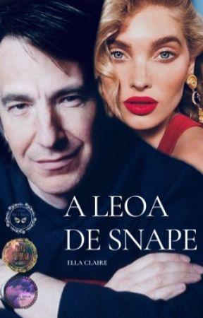 A Leoa De Snape by EllaClaire_