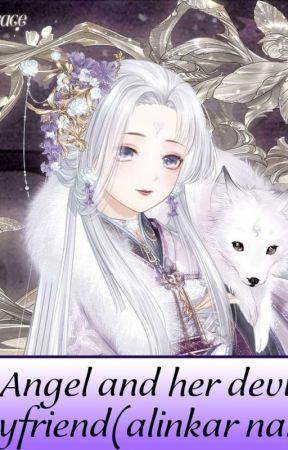 နတ်ဘုရားမလေးနှင့်သူမ၏ချစ်ရသောနတ်ဆိုးလေး Zgi & Uni  by alinkarnang