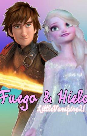 Fuego & Hielo [Hiccelsa] by LittleVampire21