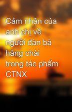 Cảm nhận của anh chị về người đàn bà hàng chài trong tác phẩm CTNX by steleven