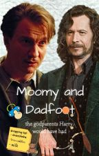 Moomy and Dadfoot by dope_wolfstar