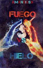 Fuego vs Hielo by Amandiuss