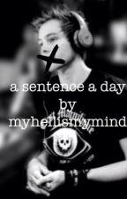 a sentence a day (lashton) by myhellismymind