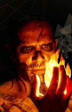 Suicide Squad- El Diablo x OC by koiley37
