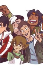 Voltron group chat by kaii805