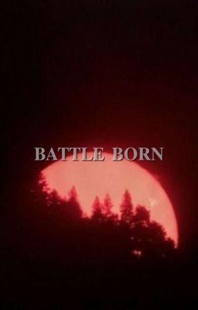 BATTLE BORN ━ percy jackson & the olympians by okaywickersham