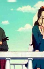 En el barco....  (Zoro y Robin) y (Sanji y Nami) by Demon_hari