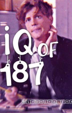 IQ of 187|| Spencer Reid || by sydneyalina