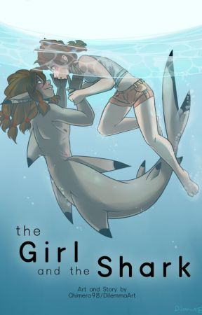 The Girl and the Shark by Chimera98