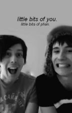 little bits of you. little bits of phan. by TheCoumie