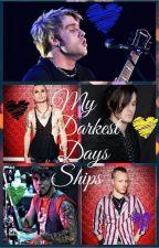 My darkest days ships by theblacksorceress