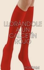 Llorándole a un calcetín rojo by Hoream