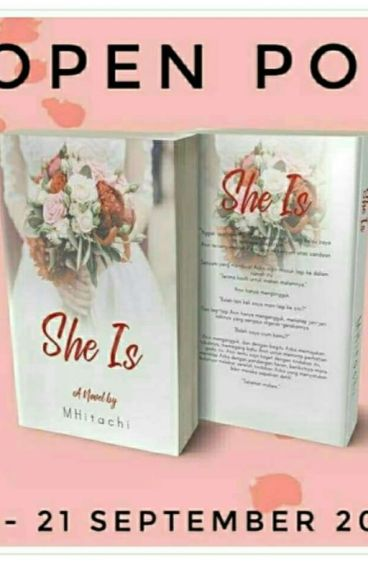 She is . . .