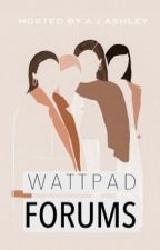 Wattpad Forums by Mendusbabe