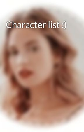 Character list :) by official_Hogwarts_Rp