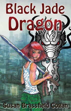 Black Jade Dragon by SusanBrassfieldCogan