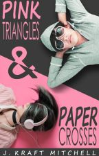 Pink Triangles & Paper Crosses by J_Kraft_Mitchell