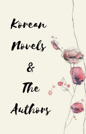Korean Novels & The Authors  by Jinnxz_