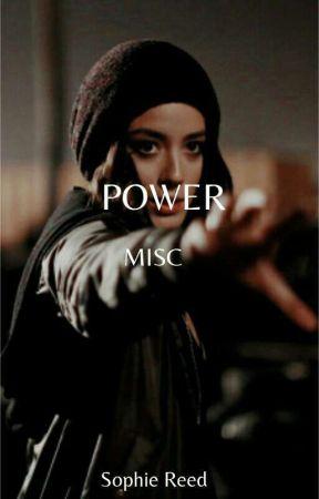 POWER - MISC  by marvel_moonlark