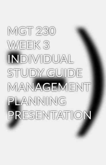 management planning presentation mgt 230 Issuu is a digital publishing platform that makes it simple to publish magazines, catalogs, newspapers, books, and more online easily share your publications and get them in front of issuu's millions of monthly readers.