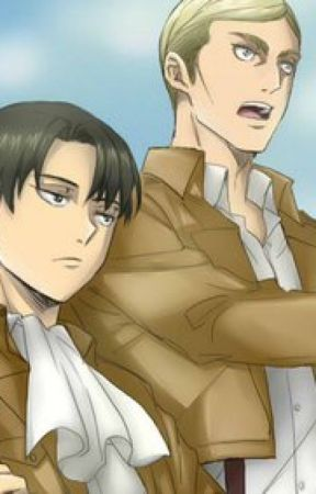 Levi x Reader x Erwin by bluehorse101