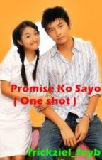 Promise ko sayo!(one shot) by peebatyourservice