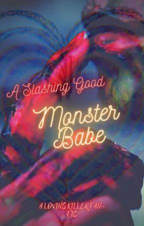 A Slashing Good Monster Babe by MakiOnyx
