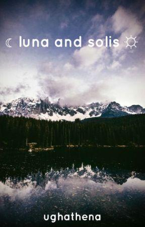 luna and solis ➣ luke au by ughathena