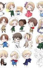 Mom Reader x Child Hetalia by leehaechans