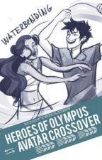 Heroes of Olympus & Avatar Crossover by nigntshades