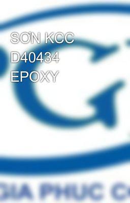 SƠN KCC D40434 EPOXY