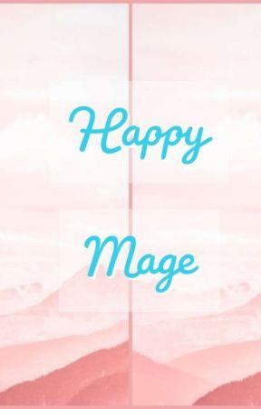 Happy Mage by BakedMiniGirl