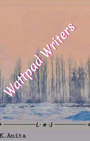 Wattpad Writers by Kellykosi