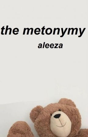 the metonymy (a poetry book) by mariaaleeza
