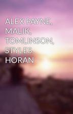 ALEX PAYNE, MALIK, TOMLINSON, STYLES, HORAN by mynameis_zm