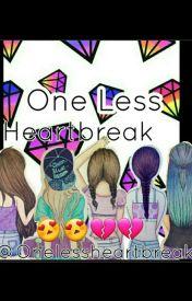 One Less Heartbreak 1 by onelessheartbreak