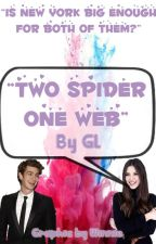 Two Spiders One Web by cas__girl
