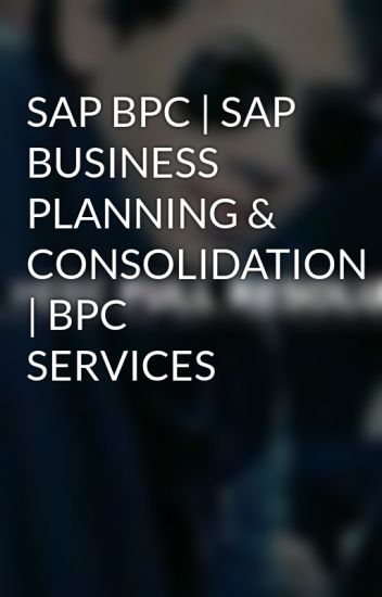 sap business planning and consolidation