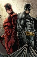 The Dark knight and the devil of hells kitchen by HAROONBOI