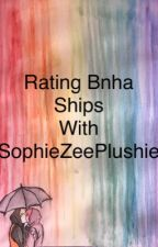 Rating BNHA ships  by SophieZeePlushie