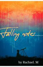 Falling notes by Pretty-Midget