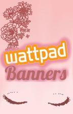 Wattpad banners by Catherineen