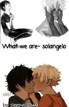What we are~ Solangelo by sleepyaizawa