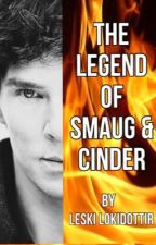 The Legend of Smaug & Cinder by LeskiTheValkyrieFox
