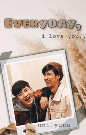 Everyday, I love you by uni_yunu