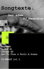 Songtexte von Taddl, Ardy und Dat Adam by einfach-egxl