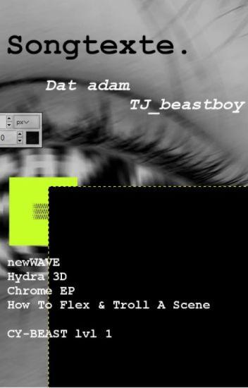 Songtexte von Dat Adam (+ Taddl und Ardy)
