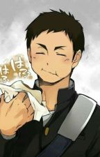 Karasuno's Mini Manager Haikyuu x Male! Reader Daichi's Brother by iwachanshoe